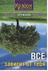 "Брежнева Е.А., ""Все зависит от тебя. Матрица восприятия реальности"", книга из серии: Пророчества. Ченнелинг"
